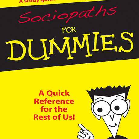 Sociopaths for Dummies | Sociopath to Enlightenment